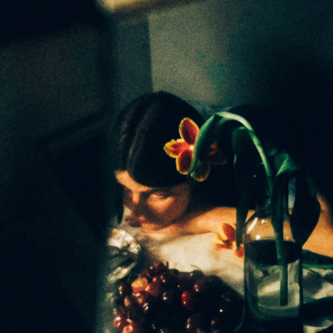 Melodie, cherries and flower